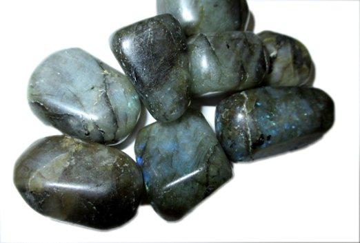 Labrodorite crystal