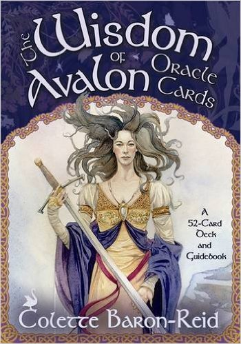 wisdom of avalon oracle deck colette baron-reid